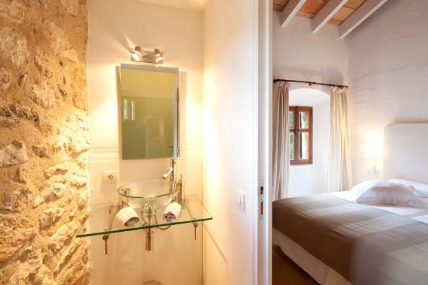 Habitación del Hotel Mirabo de Valldemossa. Fotografiar interiores no es complicado.