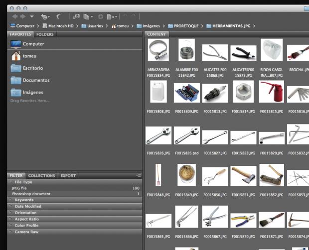 Programa para catalogar y administrar archivos fotográficos