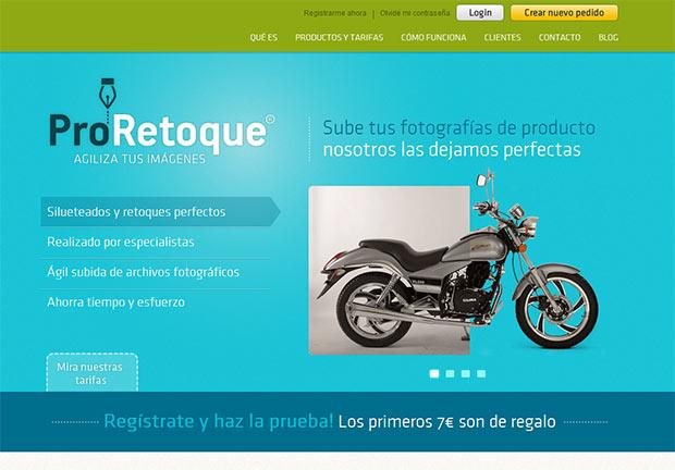 La nueva web de ProRetoque, con nuevos servicios
