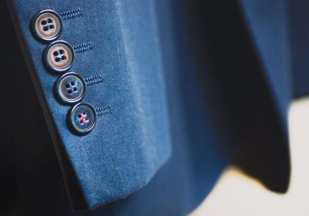 Detalle de la manga de una chaqueta