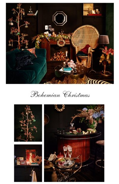 catálogo navideño: Decoración metálica en Navidad 2