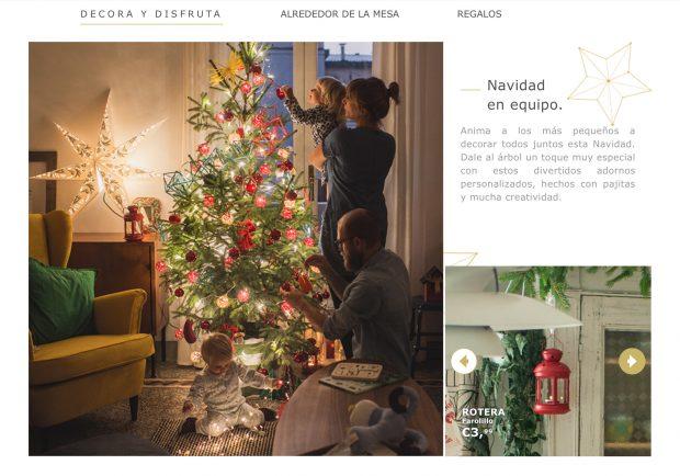 catálogo navideño: Navidad en equipo