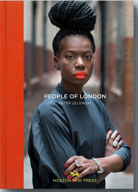 libros de fotografía profesional para e-commerce y catálogo: People of London, por Peter Zelewski (editorial Hoxton Mini Press)
