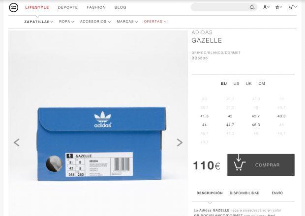 El retoque de fotografía de marca: caja