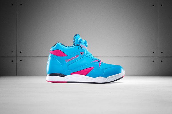 Zapatillas deportivas azules de mujer marca Reebook
