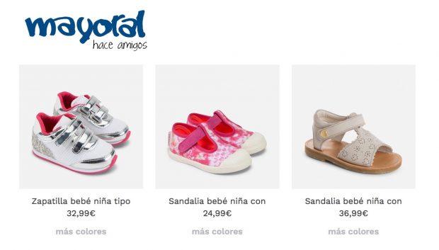 Zapatillas de niña marca Mayoral
