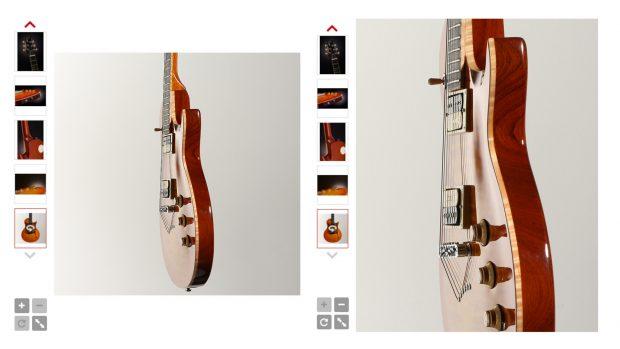 fotografía en 360 : guitarra eléctrica