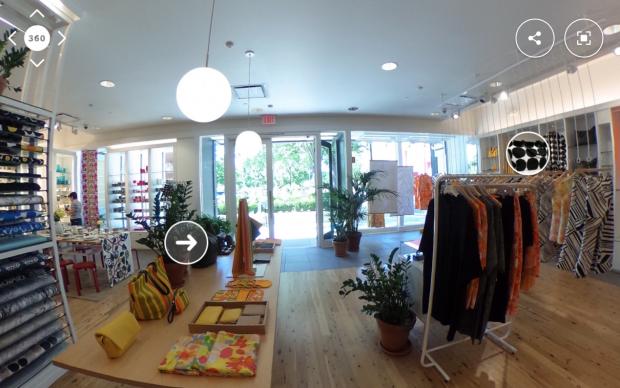 fotografía en 360 : Tienda de moda